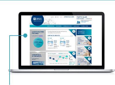 Emplena les dades d'usuari, les dades d'accés a l'Oficina en Xarxa i les dades de comunicació; tria si vols rebre la Factura sense Paper i accepta les condicions d'ús