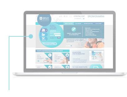 Puedes acceder haciendo clic en Trámites y gestiones y seleccionando Iniciar sesión