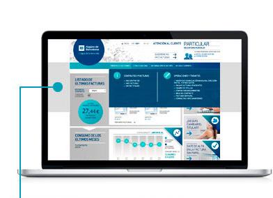 Haz clic en Trámites y gestiones y selecciona Modificar domiciliación bancaria, dirección postal y otros datos